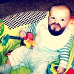 This is what I thought my buddy @TheMightyFoz baby would look like. Sorry, Foz.