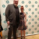 And here's me and @KristianNairn. Huge fan of this huge guy! (Or am I just incredibly tiny?)