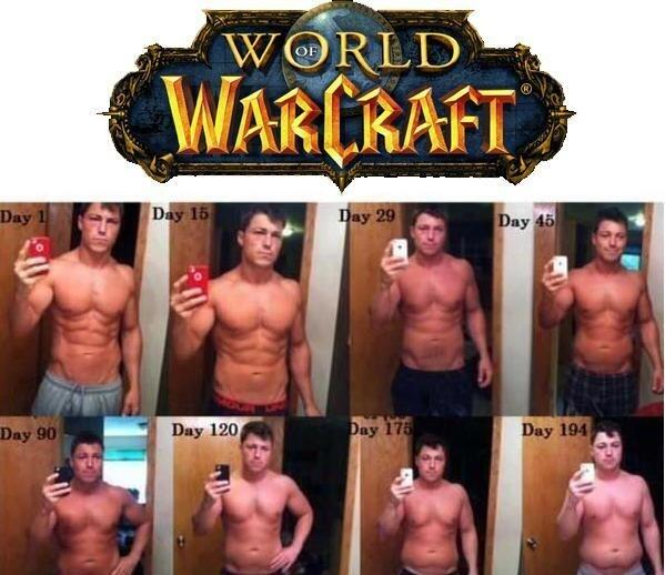 RT @JulienChieze: Découvrez le régime World of Warcraft ! Imparable ! http://t.co/8nbjFYKTo5