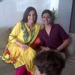 Lovely chat on our show wth the v talented Nanditaa Das. Thx for your qs we asked most. Our kids played too, fun