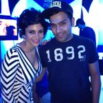 Rohit Sharma the man of  of tonight!!  Wowie!!! #signatureafterparty http://t.co/P70LsikT5P
