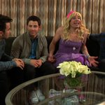 Tonight, @jonasbrothers get a visit from their biggest fan. #LateNight http://t.co/eRR6Q5rCU8
