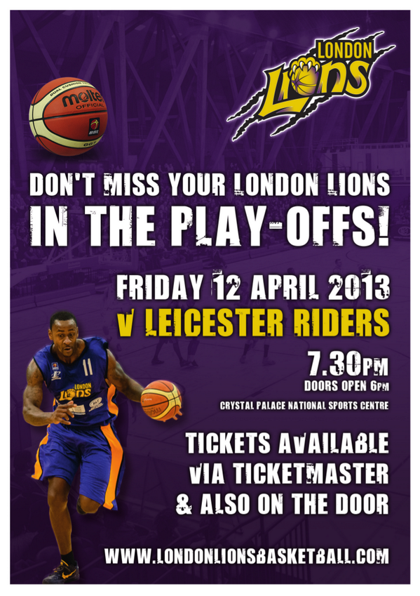 Not to miss! > RT + Follow @London_Lions to WIN a Box for 6 and bottle of Prosecco on 12 April 2013! http://t.co/QM0wjwNxiM