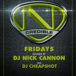 TONIGHT #NCredible Fridays with the @SKAMARTIST family @ HYDE