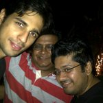 With @S1dharthM & Milap ! The Villains ! :)