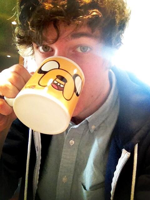 RT @kickthepj: Jake the mug. http://t.co/8RByNFJOM0