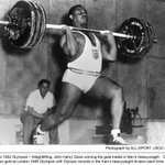 #ThrowbackThursday: What winning weightlifting gold looked like in the 1952 #Olympics! #TeamUSA