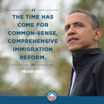 RT if you agree: We've waited long enough for immigration reform.