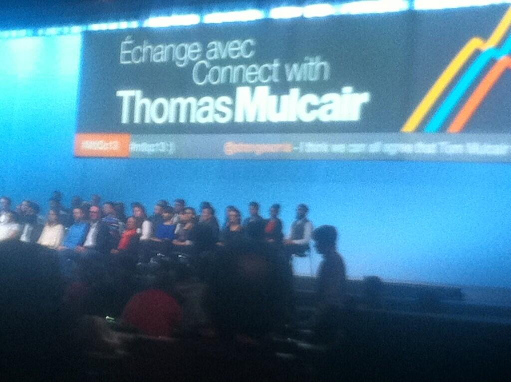 Leave it to @SaskNDPYouth's @strangesonia to comment on Mulcair's 'hotness.' And have it onscreen. 7 times. #mtlqc13 http://t.co/UtItXgnK2u