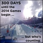Retweet if you know what you'll be doing in 300 days. #Olympics2014