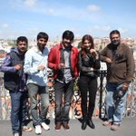 RT @megopichand: Balupu team at Lisbon, Portugal during song shoot !! http://t.co/kPR6CET7QG