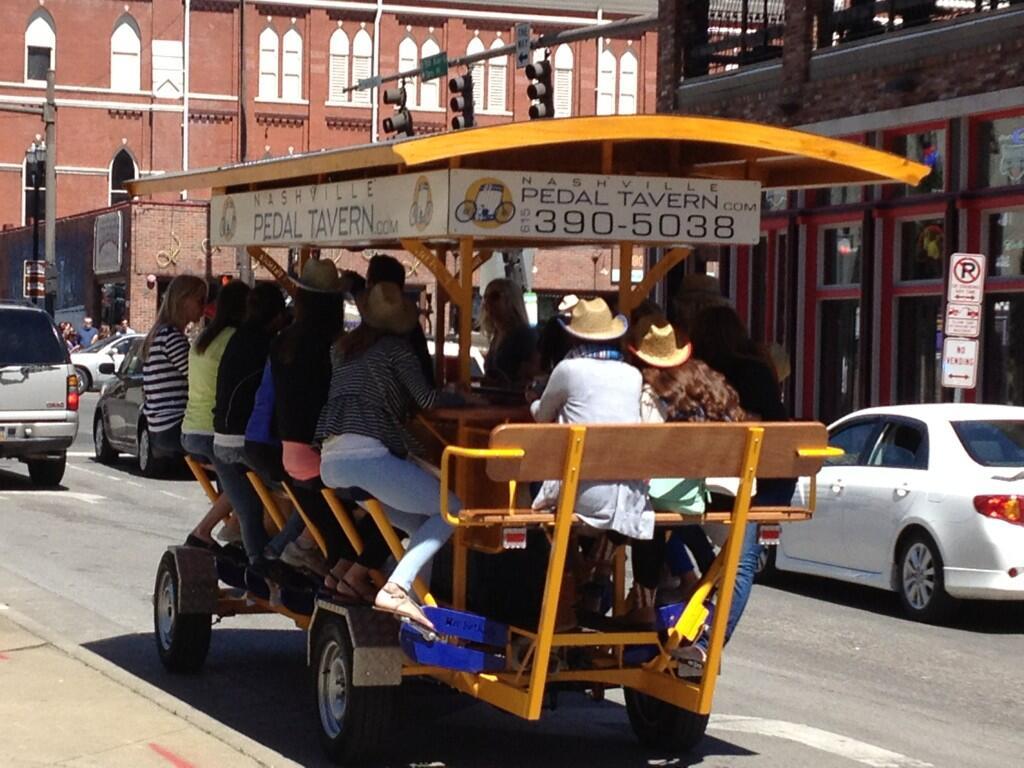 Bar Bike Nashville Bar/bike in Nashville