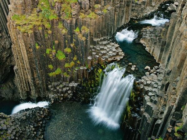 This is Litlanesfoss, Iceland http://t.co/9Y2ycfUaTN