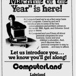 Google News Archive find: 1983 Computerland ad recommending you buy TIME's Machine of the Year.
