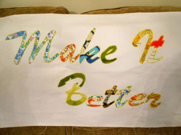 RT @makeandmendyear: My freshly made banner for my #UpcycleExchange at the @BathArtisan Make Do and Mend Market tomorrow! http://t.co/xm ...