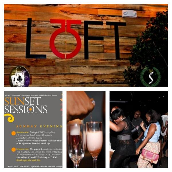 #SunsetSessions - The only place to vibe on a Sunday!!! FOOD - LOUNGE - LIVE MUSIC - GREAT ATMOSPHERE!!! http://t.co/KMNywZ7csh