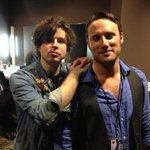 Hanging w the boys: @chrisstills and @theryanadams at tonight's @autismspeaksla benefit.