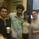 #Aashiqui2: Mohit, Aditya, Shradha & Pooja celebrate the success of the  music.