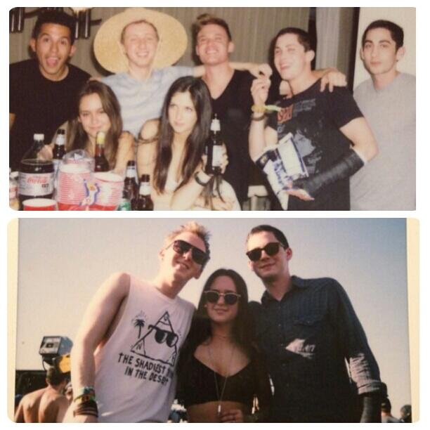 #UPDATE Logan Lerman with this friends and his broken arm. http://t.co/VooQ4Ex7p7