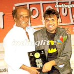 Proud best moment in my life getting chennai 600028 shield from THALAIVAR SUPER STAR on 100th day function