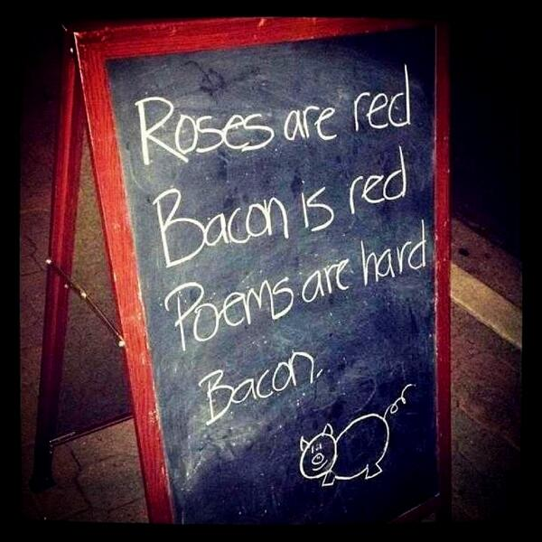 #bacon #poetry http://t.co/FYBRKAhgto http://t.co/OkdtVriLHz