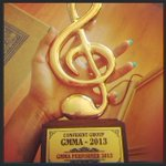 OMG and the GMMA for 2013 comes home! This is my first award for my first song in #Tamil. All thanks to @raja_yuvan:) http://t.co/pMVFMXV5nt