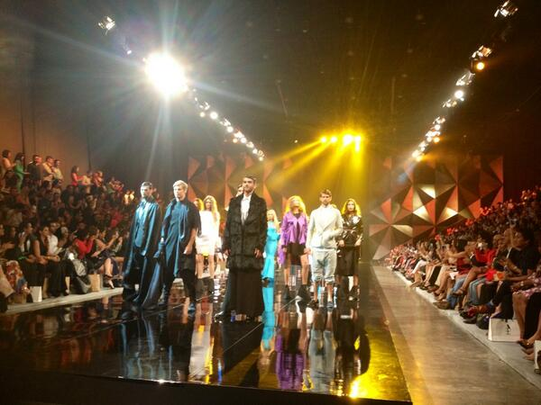 #Essa's show was the highlight of #fashionforward #dubai season 1 #ffwd @ffwddxb #uae #fashion #gulf #me http://t.co/j5U89au9CI