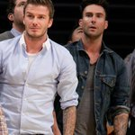 """@TheLadyBoners: David Beckham and Adam Levine. http://t.co/yLgnFFToSN"" 😍😍😍"