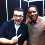 RT @ChadLColeman: Me and Ryan Penagos Executive Editorial Director of MARVEL COMIC @agentm at C2E2 in Chicago!
