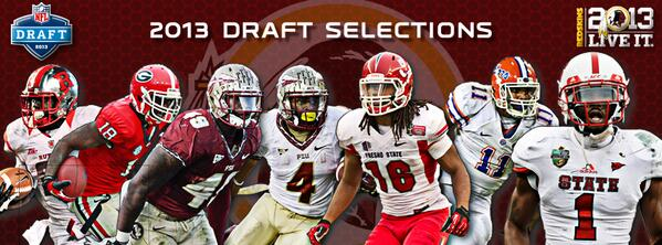 Your 2013 #SkinsDraft picks! #HTTR #LiveIt http://t.co/MDgHHILZVi