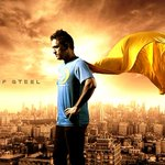 Man of steel @msdhoni