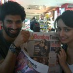#Aashiqui2 :Aditya & Shradha flash their smiles as we take off to Kolkata for the promotion this musical tale of LUV