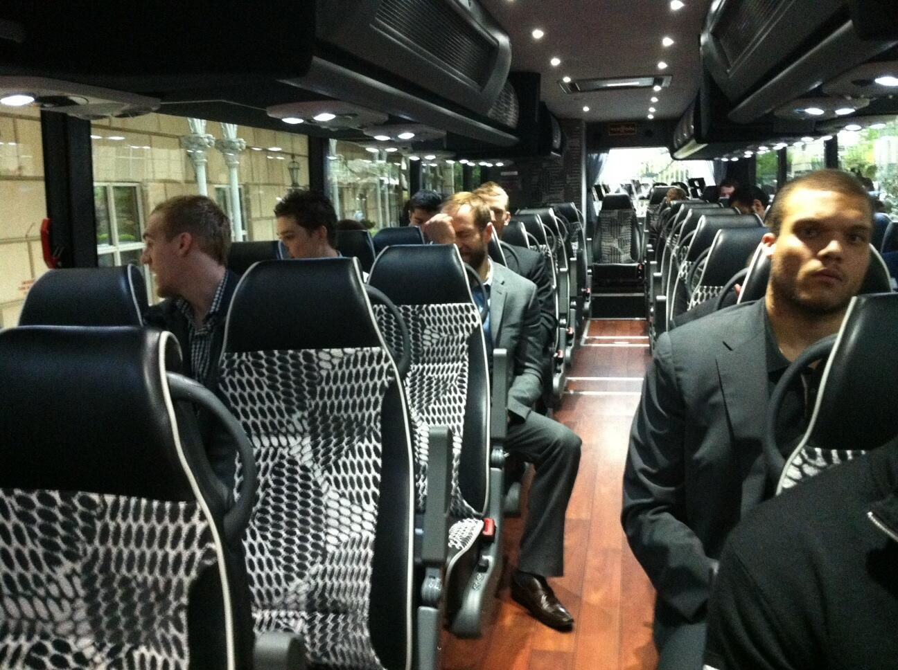 "#Canucks on their way to morning skate. Say ""hi"" to Derek Joslin (right). http://t.co/DUy9D37FiM"