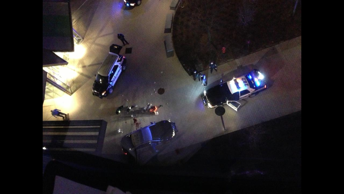 Photo from the #MIT shooting #CambMA (warning: potentially graphic) http://t.co/H4E6Fr4pId