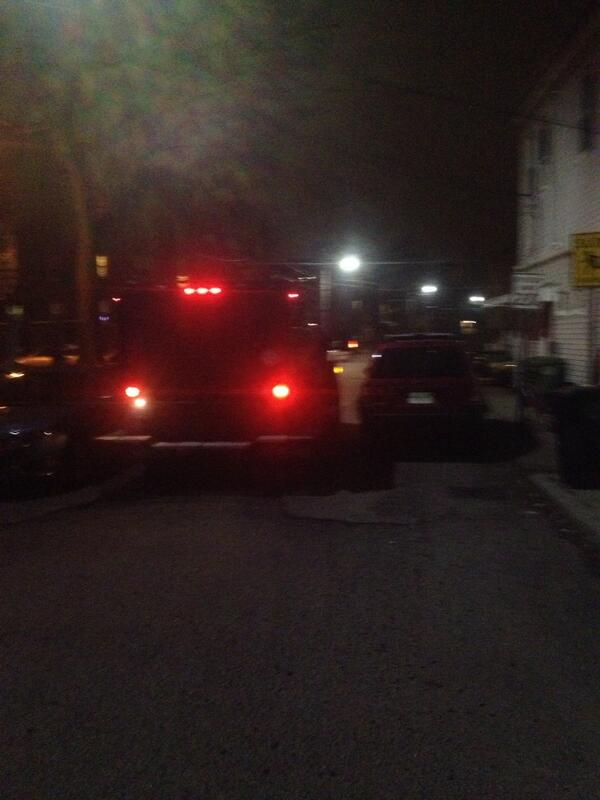 Unmarked armored vehicle arrived at scene. http://t.co/E8M0vsQ7bA