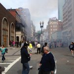 hires pic of #BostonBomber.zoom to your left and see if you can spot a guy with a white baseball cap.Incredible Pic http://t.co/8VyjhIGnh6