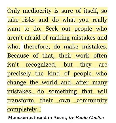 Only mediocrity is http://t.co/MUKm4a0Z0d