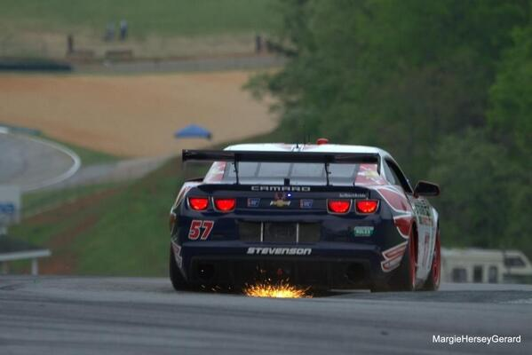 RT @JEdwardsRacing: Cool pic of our car landing off the curb in T3 @StevensonAuto @RolexSeries http://t.co/uPQLQO8BFz