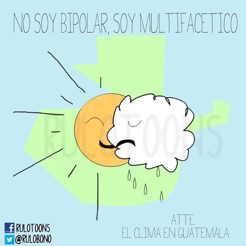 el clima hoy en guatemala: