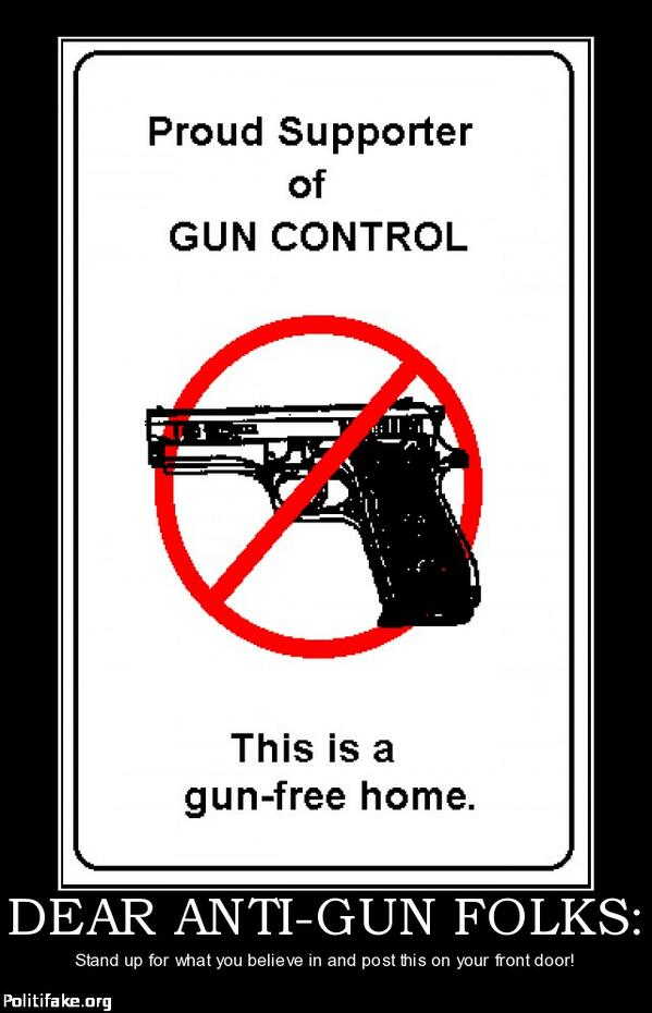 what is a good thesis for gun control