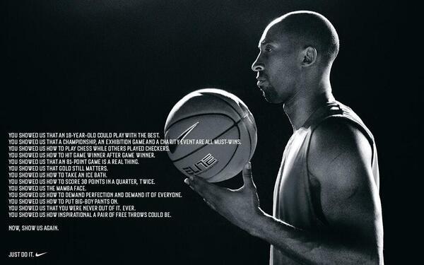 RT @darrenrovell: New Nike Kobe ad http://t.co/u9lc41qbF2