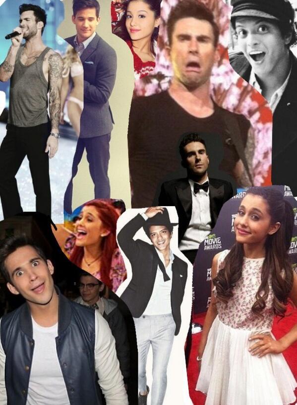 Adam levine tumblr collage