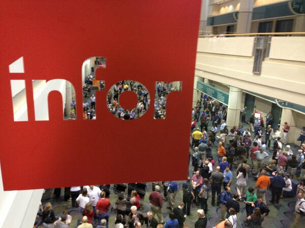 Inforum 2013 The Keynote on Day 1 #Infor2013 (with images, tweets) · rwang0