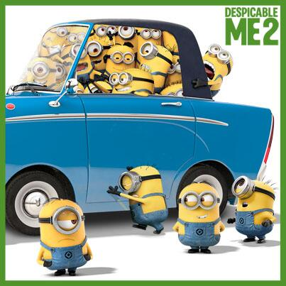 In celebration of Earth Day, the Minions carpool. #DespicableMe2 #HappyEarthDay http://t.co/tfImcMjjuM