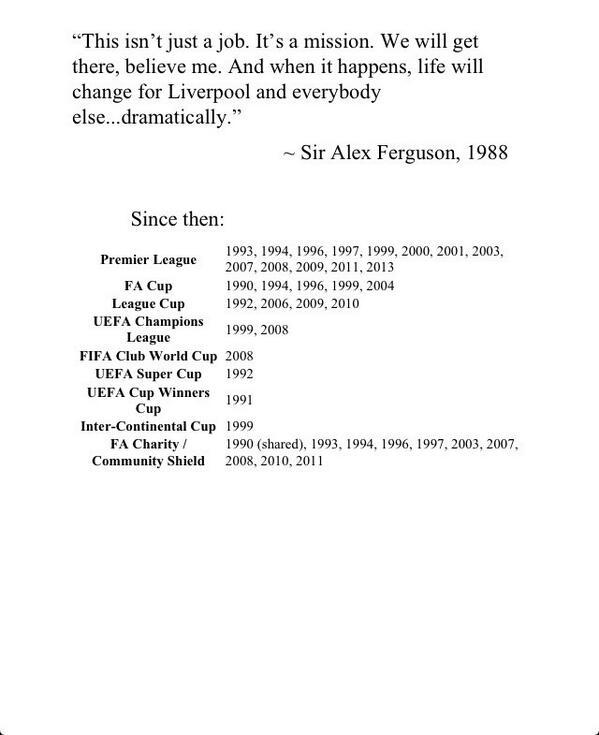 In 1988, a man called Alex Ferguson said this: http://t.co/eSyGH7GLCH