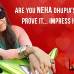 RT @RangeelayFilm: **CONTEST ALERT** Are you @Neha_Dhupia's biggest fan?? Impress her to win #Rangeelay goodies!