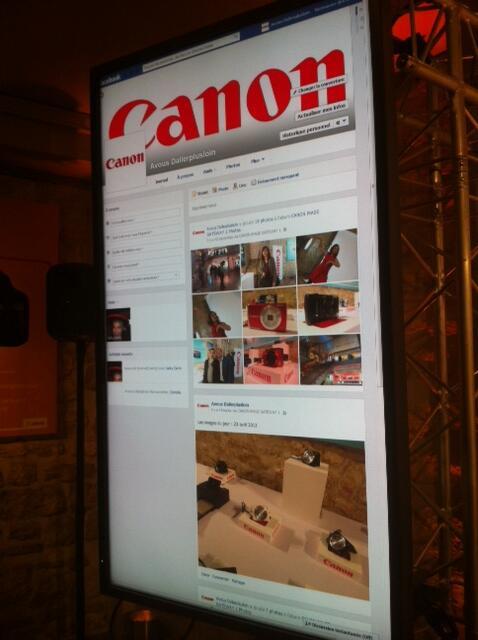 """RT @PhoxLeShopPhoto: Avec Canon durant son événement interactif pour sa plateforme """"A vous d'aller plus loin"""" http://t.co/TgdUPXXxwO"""