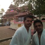 With my brother Dipusanth @vadakkumnathan temple @trissur