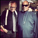 A duet with living legend Stevie Wonder? Check! Watch it on #LarryKingNow @OraTV: http://t.co/GwJtmn9aqj