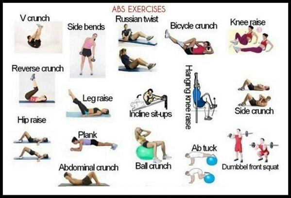 #NoExcuses next time U wanna do situps but don't know which 1 to do.... DO ALL OF EM!! http://t.co/BQICMB7Ytx